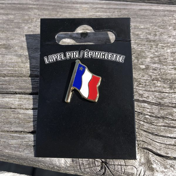 ACA epingle du drapeau acadien - acadian flag pin