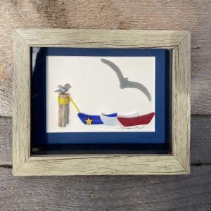 Glass-Art-doris-acadien-bordure-bleu-marin