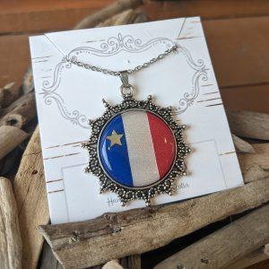 Silverlinks-acadian necklace-court colier acadien
